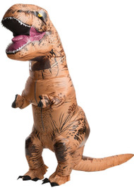 Adults Inflatable T-Rex Fancy Dress Costume
