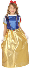 Girls Snow Princess Fancy Dress Costume 1