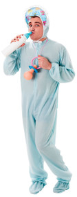 Mens Big Baby Blue Fancy Dress Costume