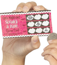 Ladies Hen Party Dare Scratchcards
