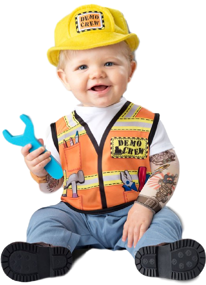 Kids Play Hard Hat