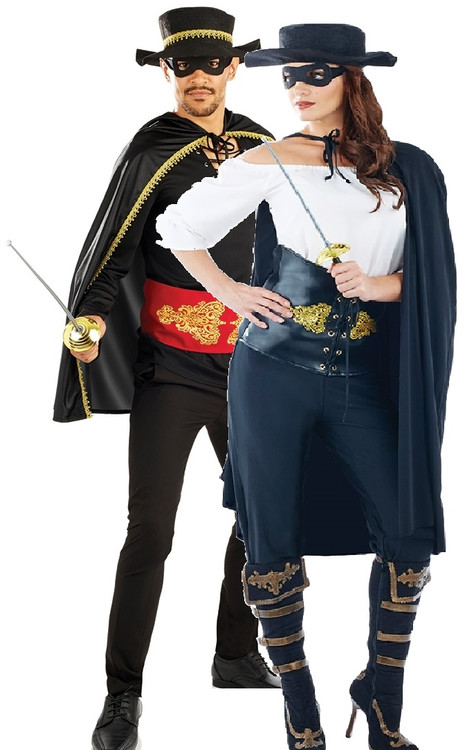 Zorro Couples Halloween Costumes