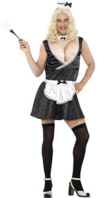 Mens Sexy French Maid Fancy Dress Costume