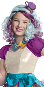 Girls Madeline Hatter Fancy Dress Wig