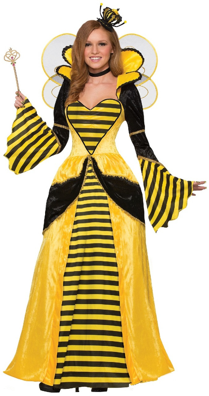 Ac Unit Prices >> Ladies Deluxe Queen Bee Fancy Dress Costume - Fancy Me Limited