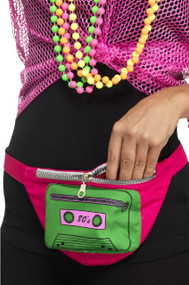 Adults 80's Bumbag Fancy Dress Accessory