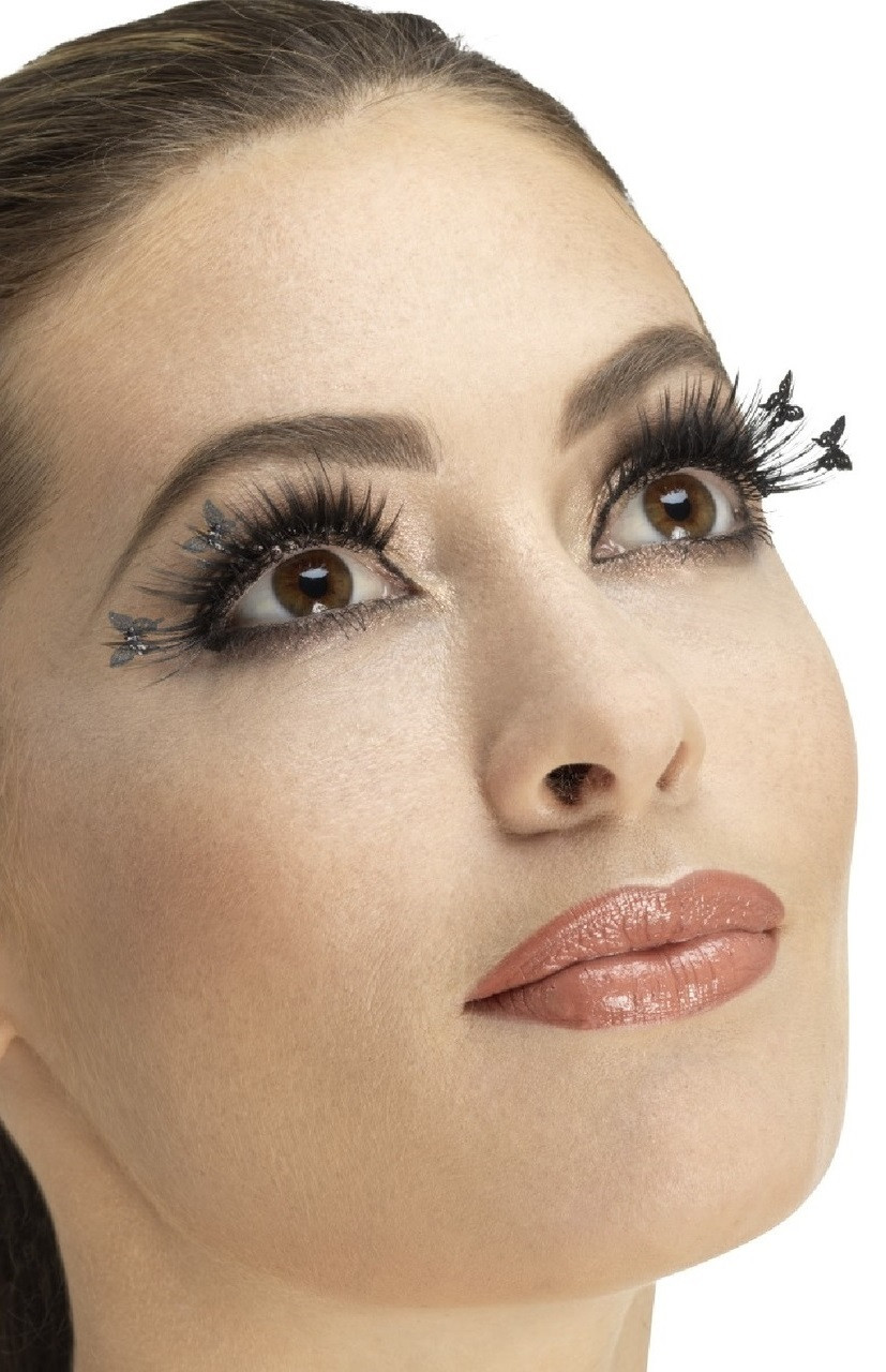 Ladies Winged Butterfly False Eyelashes Fancy Me Limited