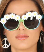 Ladies Daisy Tinted Festival Glasses