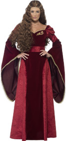 Ladies  Lion Queen Fancy Dress Costume