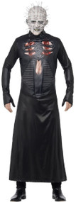 Adults Deluxe Pinhead Fancy Dress Costume