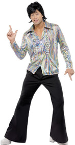 Mens 70s Disco Fancy Dress Costume