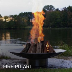 exterior homescapes. achla · fire pit art exterior homescapes