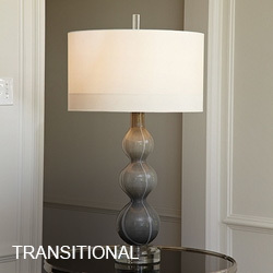 Crystal Table Lamps · Traditional Table Lamps · Transitional Table Lamps