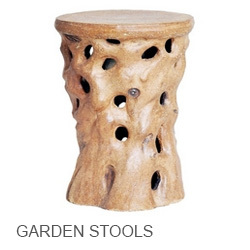 ... Emissary Garden Stools ...