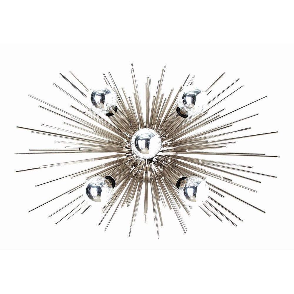 Arteriors Zanadoo Sconce Ceiling Mount-Polished Nickel