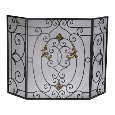 French Fireplace Screen