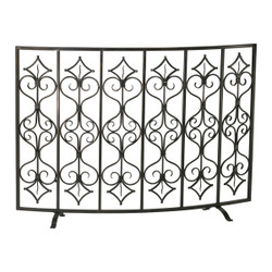 Casablanca Fireplace Screen