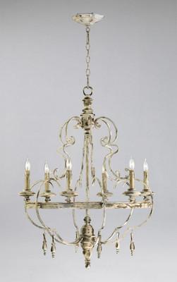 Cyan design davinci 6 light chandelier davinci 6 light chandelier aloadofball Images
