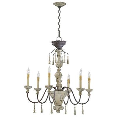 Cyan design provence 6 light chandelier provence 6 light chandelier aloadofball Images