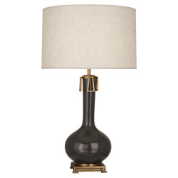 Athena Table Lamp - Coffee