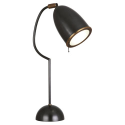 Director Table Lamp - Deep Patina Bronze