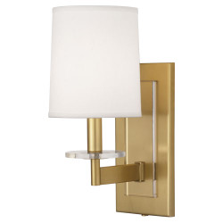 Alice Single Wall Sconce - Antique Brass