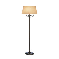 Abbey Bronze Floor Lamp - Victorian Bronze