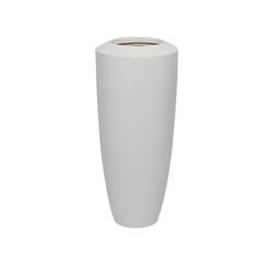 White Fiberglass Barrel - Small