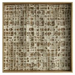 "25"" Shadow Box 'Digital Paper' - natural frame"