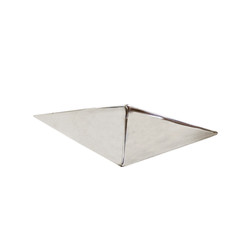 """Stainless Hexahedron 7.75""""L - Set of 2"""