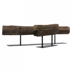 Cladded Bronzed Table Sculptures