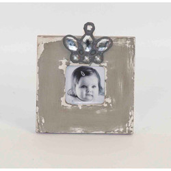 Wood Photo Frame, Set Of 2