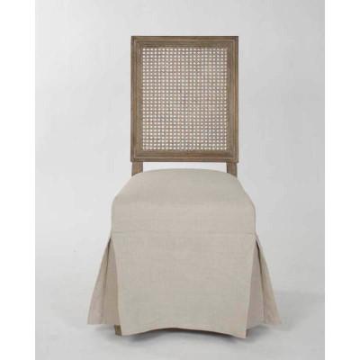Zentique Louis Cane Back Side Chair