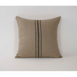 Middle Blue Strip Pillow