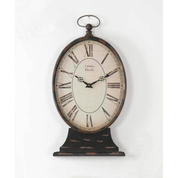Paris Table Clock