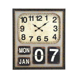 About Time Wall Clock