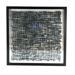 Abstract Paper Art Frame Xxv