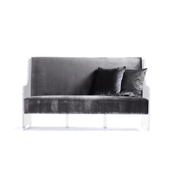 Acrylic Sofa - Dark
