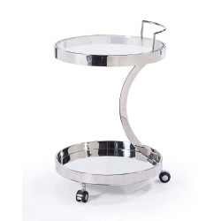 Beatty Bar Cart - Sliver