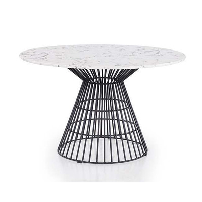 Blink Home Greenwich Marble Top 47 Quot Dining Table Black