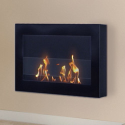 Anywhere Fireplace SoHo Fireplace- Black