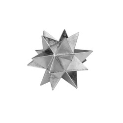Cosmo Medium Moroccan Style Star In Silver Leaf