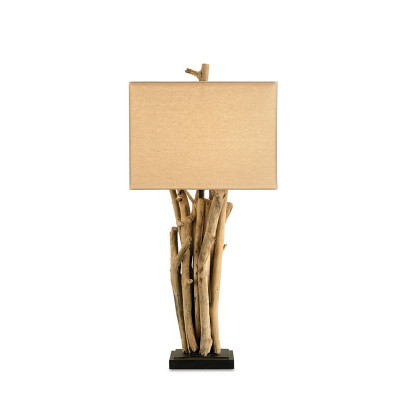 Currey Company Driftwood Table Lamp
