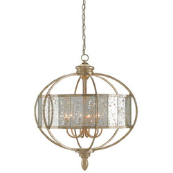 Currey Amp Company Florence Chandelier Bronze Gold Raj Mirror