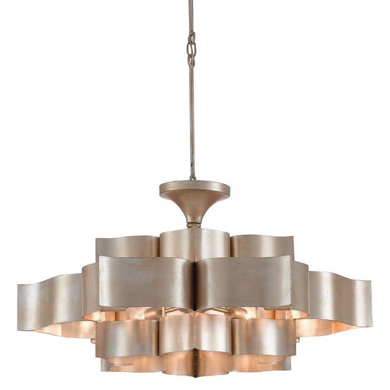 Currey Amp Company Grand Lotus Chandelier Contemporary