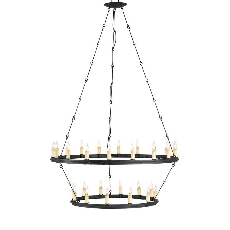 Currey And Company Durand Chandelier: Currey & Company Toulouse Chandelier