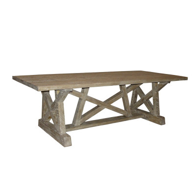 CFC Reclaimed Lumber Pentagon Dining Table - Pentagon picnic table
