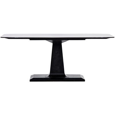 noir amboss dining table metal. Black Bedroom Furniture Sets. Home Design Ideas