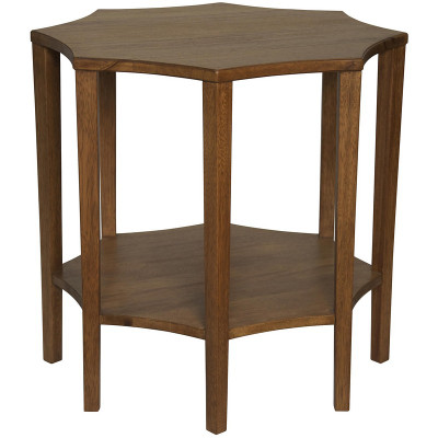 Ariana Side Table   Dark Walnut