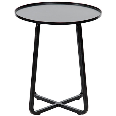 noir kimana side table metal. Black Bedroom Furniture Sets. Home Design Ideas